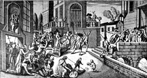 Masacre en la cárcel de La Force